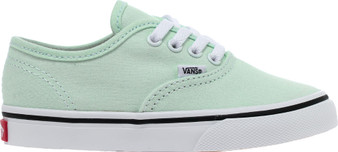 Vans  Authentic Blue Flower Girls Toddler Shoes