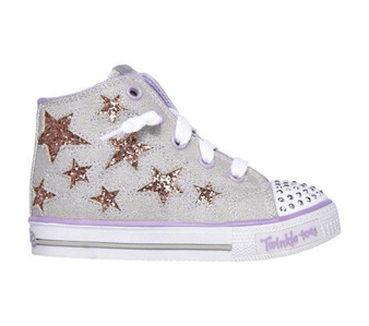 Skechers Twinkle Toes Rockin Stars girls Light Ups
