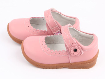 "Freycoo ""Sally"" Pink Leather Shoes"