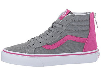 Vans SK8-HI Very Berry Grey Mist Girls High Tops