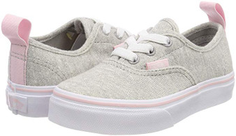 Vans  Authentic Elastic Lace Shimmer Jersey Girls Toddler Shoes