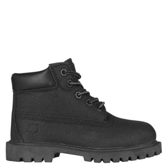 Timberland 6 inch Premium Black Leather Waterproof Boot