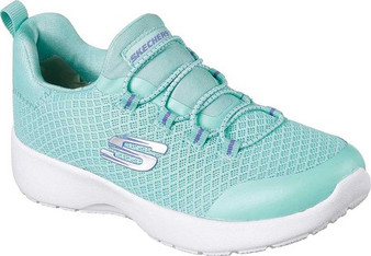Skechers Dynamight Race N Run Turquoise Girls Sneakers