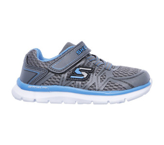 Skechers Skech Lite Quick Leap Charcoal Toddler Sneakers