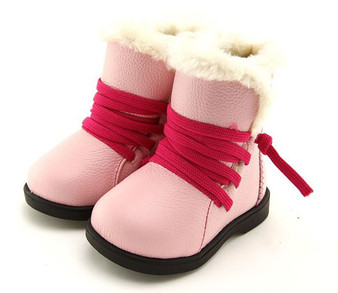 "Freycoo ""Big Sister Sammy"" Pink Leather Boots"