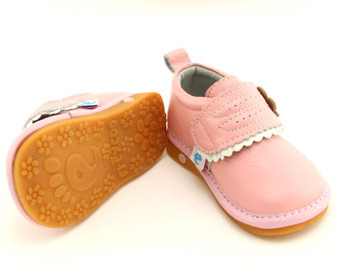 "Freycoo ""Milly"" Pink Leather Shoes"