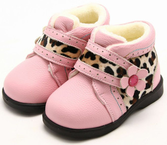 """Freycoo """"Wild"""" Pink Leather Boots"""
