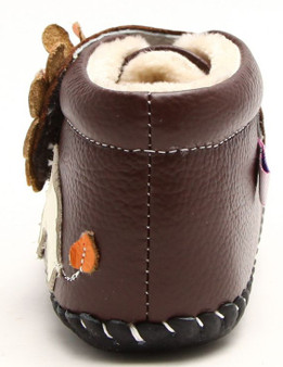 """Freycoo """"Roar"""" Brown Soft Sole Leather Boots"""