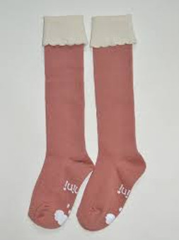 Mini Dressing Cupcake Pink Knee High Socks