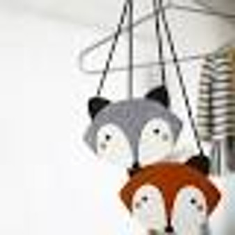 Mini Dressing Grey Raccoon Bag