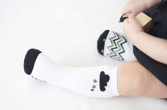 Happy Prince Cloud Knee HIgh Socks