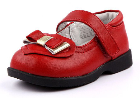 """Freycoo """"Ariel"""" Red Leather Shoes"""