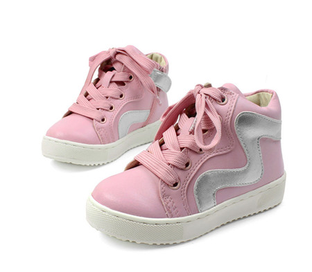 Buddy Wave Pink High Tops