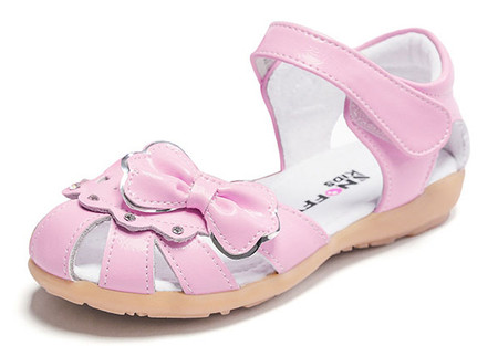 """Snoffy """"Kiara"""" Pink Leather Girls Sandals Aus 12, 13 & 1 only"""
