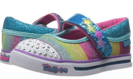 Skechers Twinkle Toes Sparkle Glitz Glam girls Light Ups