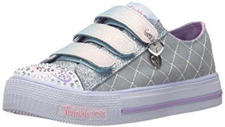 Skechers Twinkle Toes Dazzle Dash Light Up Girls Shoes