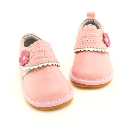 """Freycoo """"Milly"""" Pink Leather Shoes"""