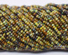 10/0 Aged Brown Striped Picasso Mix (1/4 Kilo)