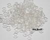 4x1mm Crystal O Beads (100 Grams)