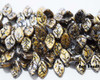 12x7mm Granite Galaxy Gold Leaves (300 Pieces)