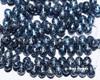4x6mm Granite Galaxy Lapis Drops (300 Pieces)