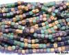 6/0 Strung Matted Picasso Cubix®  Mix (1/8 Kilo)
