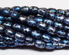 4x6mm Granite Galaxy Lapis Rice (600 Pieces)