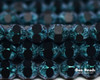 6mm Van Gogh Zircon Cut Fire Polished Bicones (300 Pieces)