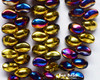 4x6mm California Purple Curved Tooth (300 Pieces)