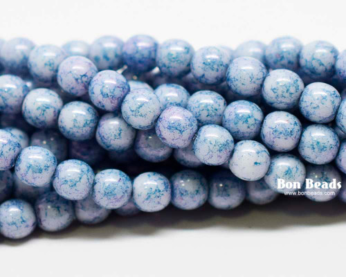 4mm Lapis Lazuli Smooth Round Druks (600 Pieces)