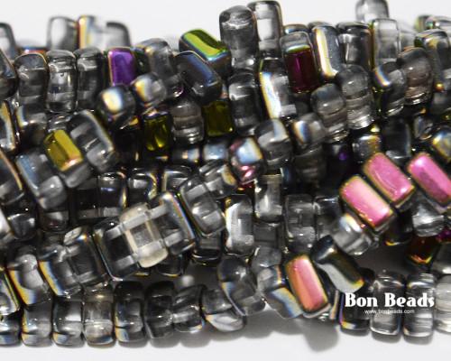 3x6mm Crystal Marea 2 Hole Bricks (600 pieces)