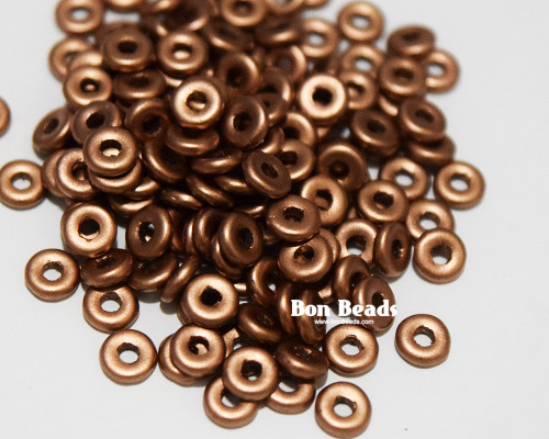 4x1mm Old Copper O Beads (100 Grams)
