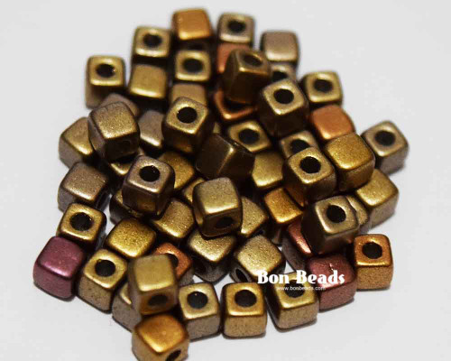 6/0 Metallic Iris Mix Cubix® (50 Grams)
