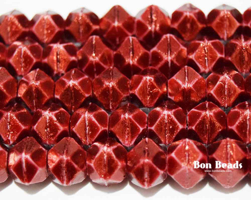 10mm Pantone Marsala Oro English Cuts (150 Pieces)