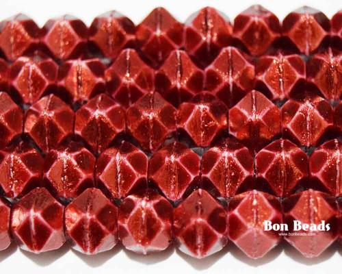 10mm Pantone Marsala Oro English Cuts (150 Pieces)
