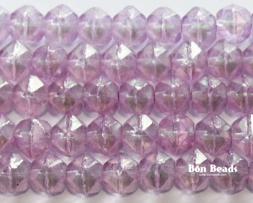 10mm Lavender Polynesian English Cuts (150 Pieces)