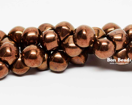 7mm Antique Bronze Wide Cap Mushroom Buttons (150 Pieces)