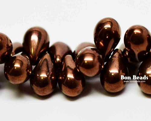 6x9mm Antique Bronze Drops (150 Pieces)