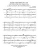 Hodie Christus Natus Est Brass Quartet (Marenzio/Howard)