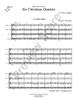6 Christmas Quartets (Trad. / arr. Hilfiger)