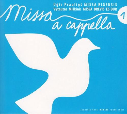 Youth Choir BALSIS: Missa a cappella 1 CD