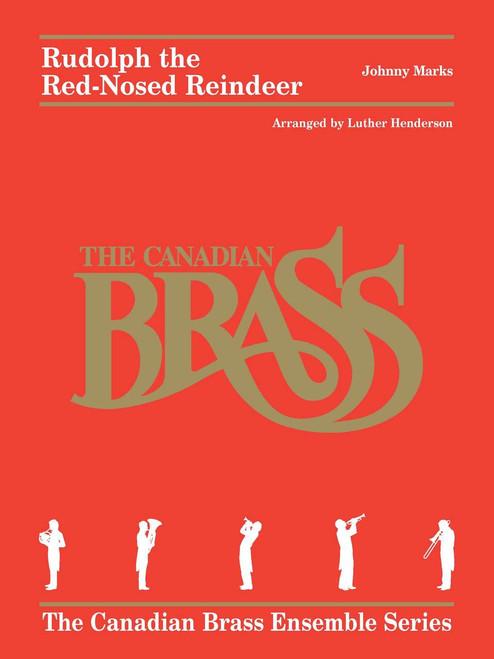 Rudolph the Red-Nosed Reindeer Brass Quintet (Marks/ arr. Henderson)