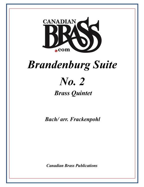 BRANDENBURG SUITE 2 FOR BRASS QUINTET (BACH/ARR. FRACKENPOHL) PDF Download