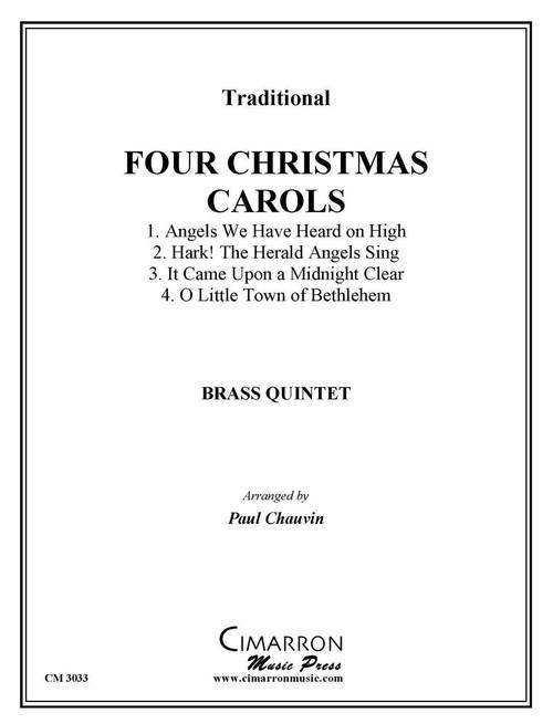FOUR CHRISTMAS CAROLS BRASS QUINTET (TRAD./ ARR. CHAUVIN) PDF Download