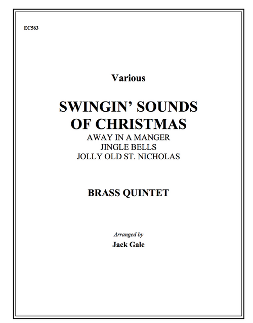 Swingin' Sounds of Christmas for Brass Quintet (Various/arr. Gale) PDF Download