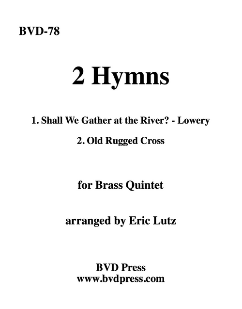 Two Hymns for Brass Quintet (Various/Lutz)