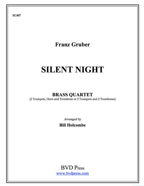 Silent Night Brass Quartet (Trad./arr. Holcombe) PDF Download