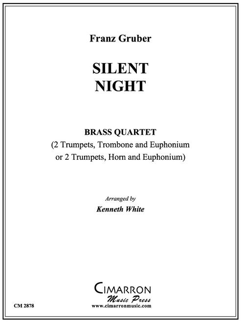 Silent Night Brass Quartet (Gruber/arr. White) PDF Download