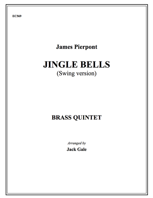 Jingle Bells (Swing Version) Brass Quintet (Pierpont/arr. Gale) PDF Download