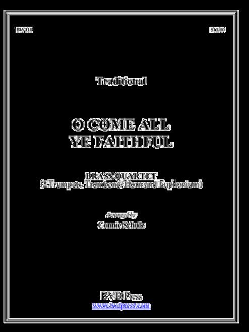 O Come All Ye Faithful Brass Quartet (Trad./arr. Schulz) PDF Download